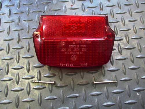 Tail Light Lens Detail-Upside Down