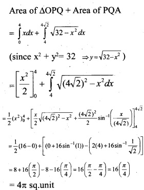 Plus Two Maths Chapter Wise Questions and Answers Chapter 8 Application of Integrals 29