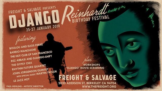 Django Reinhardt B-day Festival!