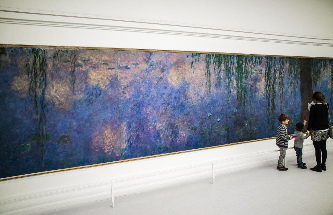 Museo dell'Orangerie, Ninfee di Monet