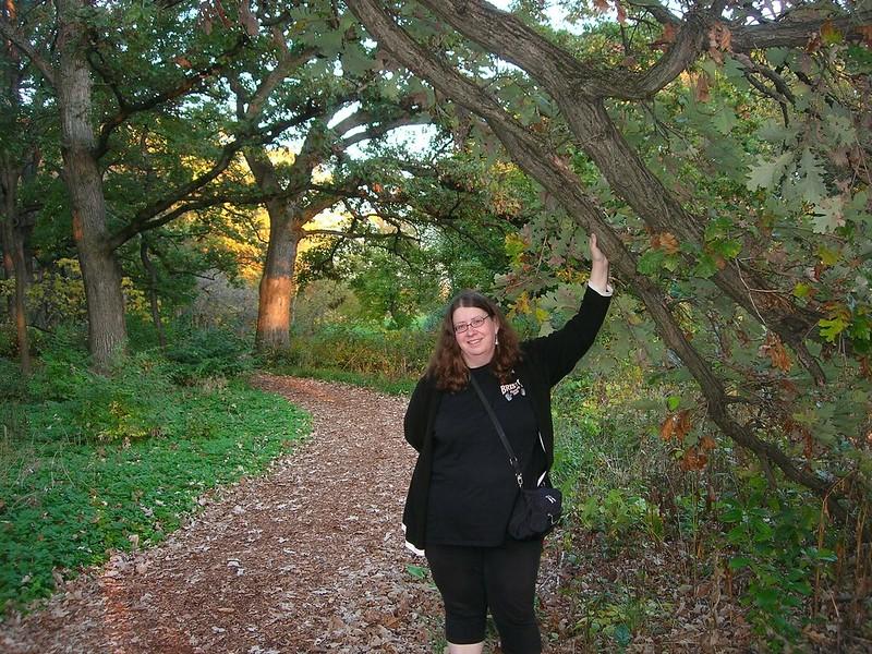 Diane Schirf at Morton Arboretum