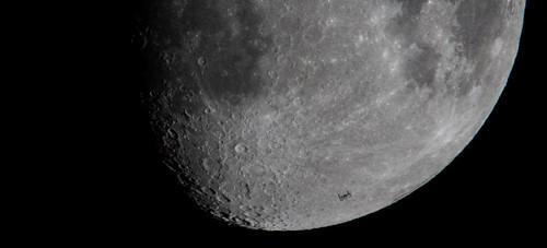 ISS Lunar Transit (NHQ201903160001)