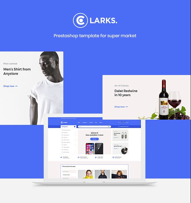 Leo Clarks - Powerful PrestaShop Multistore Theme