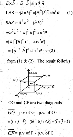 Plus Two Maths Chapter Wise Questions and Answers Chapter 10 Vector Algebra 25