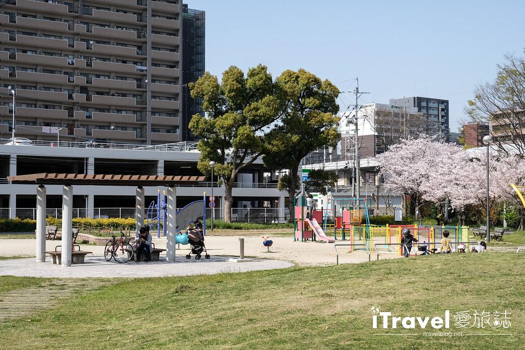 福岡賞櫻景點 美野島公園、東領公園 (15)