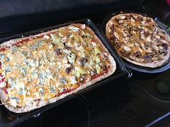 Picture of the Day - September 22, 2018 / Making Pizzas