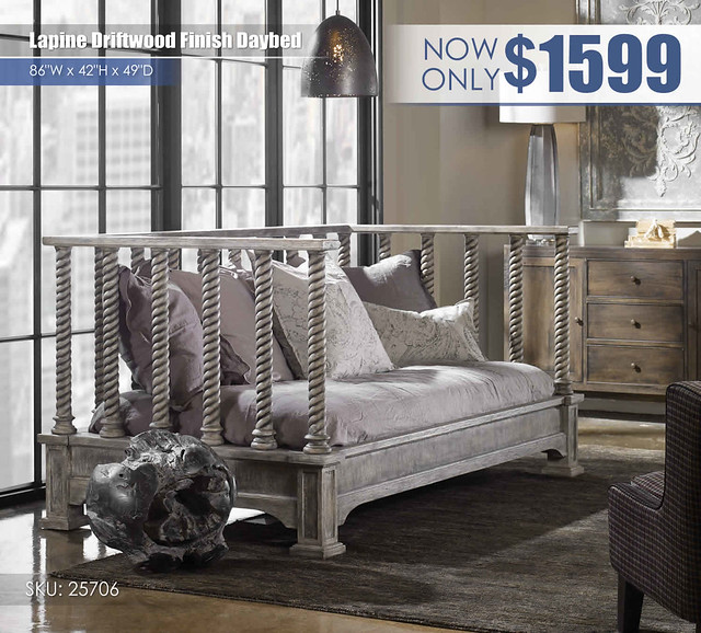 Lapine Distressed Finish Daybed_r25706