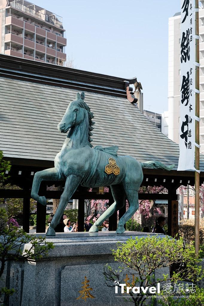 福岡賞櫻景點 櫛田神社 (9)