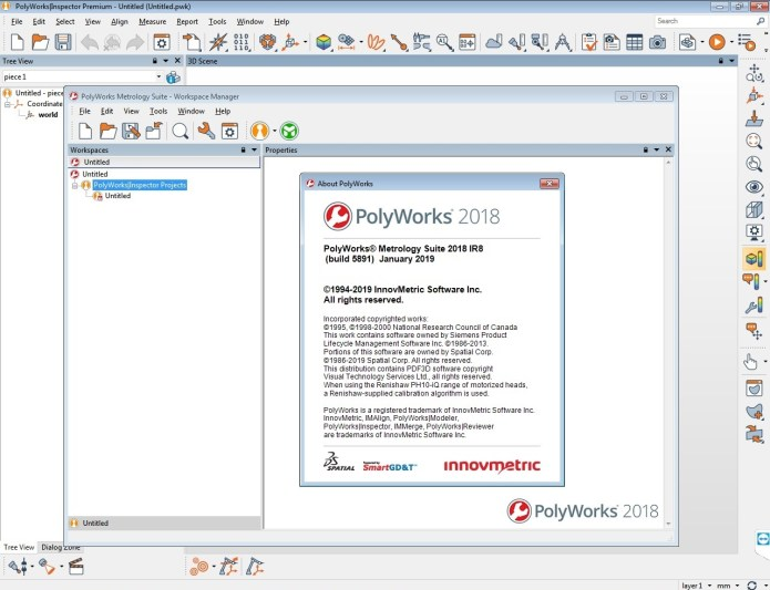 Working with InnovMetric PolyWorks Metrology Suite 2018 IR8 full
