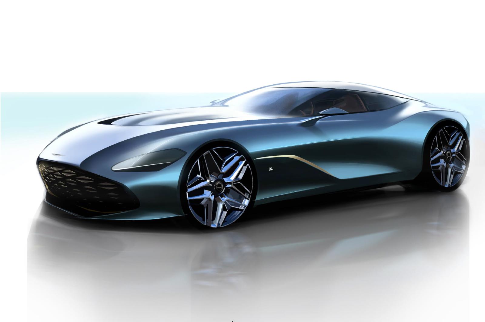 Aston Martin Reveals Dbs Gt Zagato