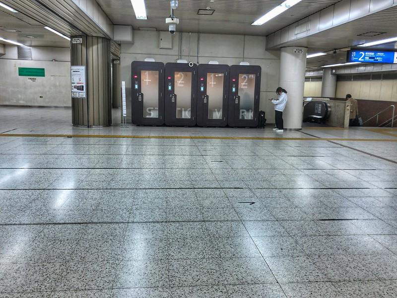 「駅ナカ×シェアオフィス」Station Booth 16
