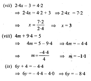 Selina Concise Mathematics Class 6 ICSE Solutions - Simple (Linear) Equations (Including Word Problems) - b1s..