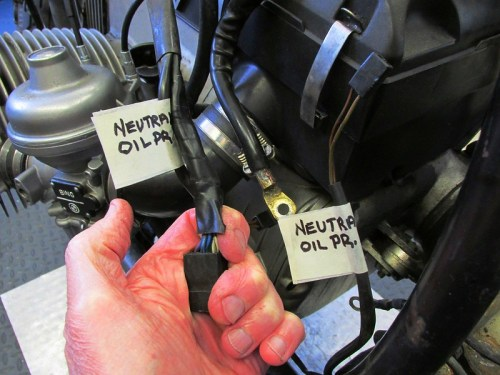 Labels On Main Wiring Harness Branches