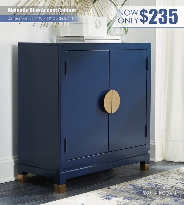Welentin Blue Accent Cabinet_A4000064