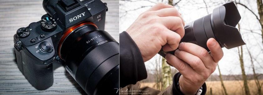 De camera is klein... ik vind hem te klein.