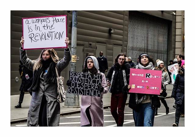 NYC Women's March 2019