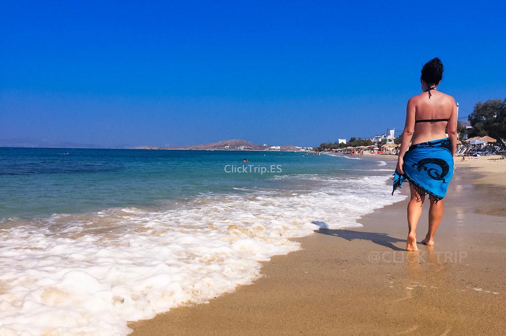 Agia Anna, una de las mejores playas de la Isla de Naxos | Islas Griegas | ClickTrip