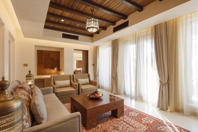 Jumeirah Al Wathba- One Bedroom Villa - Living Room