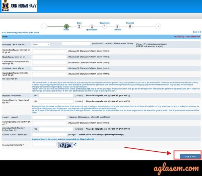 Indian Navy Tradesman Application Form 2019