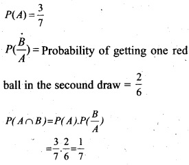 Plus Two Maths Chapter Wise Questions and Answers Chapter 13 Probability 39