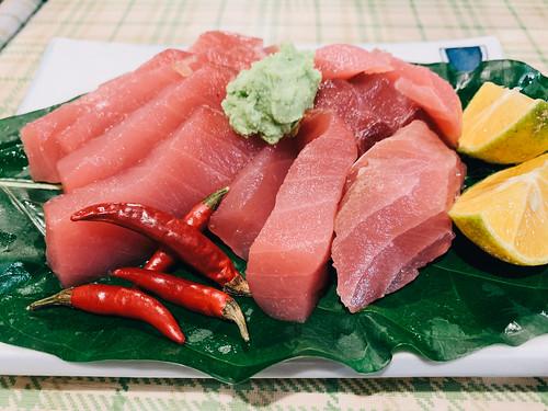 Sashimi @ Carp restaurant, Palau