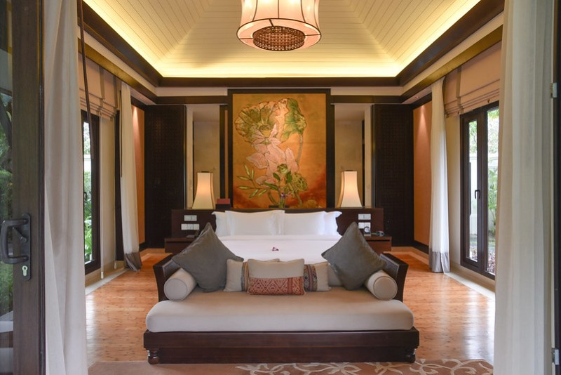 lagoon pool villa at banyan tree lang co