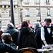 Waiter at work, Paris