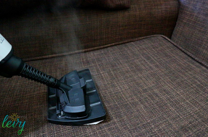Morphy Richards 9 In 1 Upright And Handheld Steam Cleaner