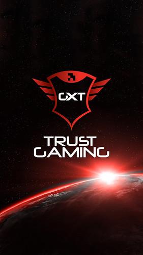 Trust Gaming Smartphone Wallpaper - Logo Space