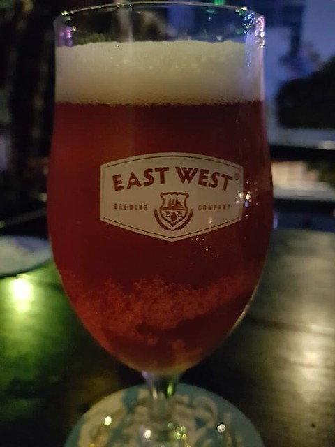 Shot of East West Craft Beer's Saigon Rose