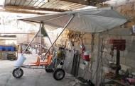 طائرة شراعية من صنع وانجاز السيد لقرع بشير من متليلي الشعانبة