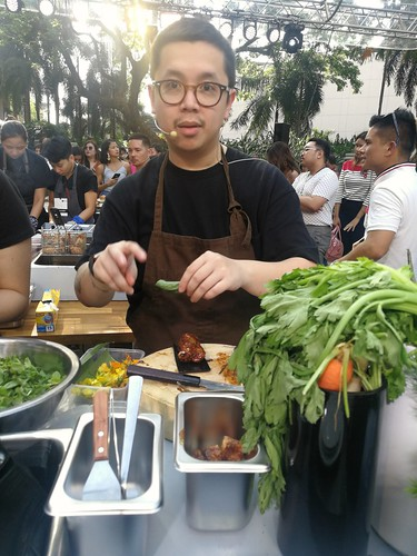 Chef Nicco Santos at Knorr