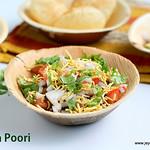 Masala poori chaat