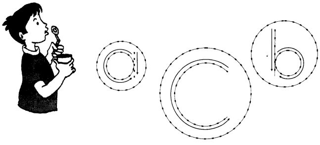 NCERT Solutions for Class 1 English Chapter 4 The Bubble, the Straw, and the Shoe 2