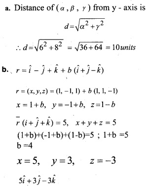 Plus Two Maths Chapter Wise Questions and Answers Chapter 11 Three Dimensional Geometry 59
