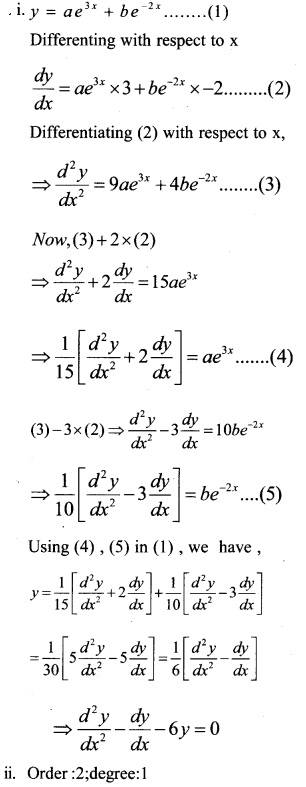 Plus Two Maths Chapter Wise Questions and Answers Chapter 9 Differential Equations 46