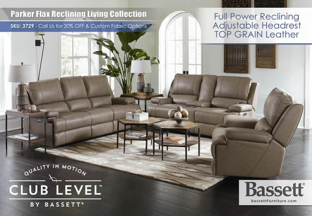 Parker Flax Sectional by Bassett 3729_RS_A_T1_FINAL