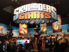 E3 Expo 2012 - Activision Skylanders Giants