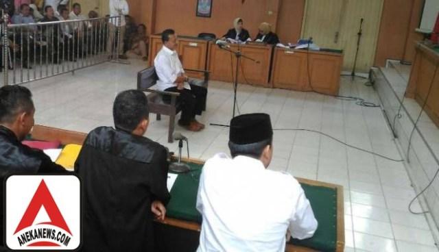 #Terkini: Bupati Ogan Ilir Didakwa Dua Pasal Penyalahgunaan Narkotik
