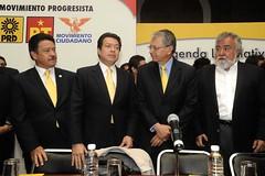 """Mario Delgado en la conferencia """"Agenda L..."""