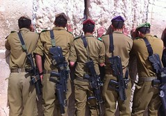 IDF Soldiers at the Western Wall