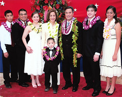 Gov. Felix Camacho and Family, 2007