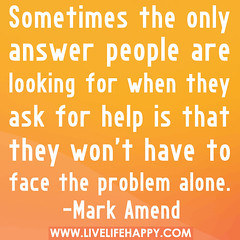 Sometimes the only answer people are looking f...
