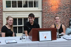 WaterFire Interns at the Brazier Society tent!