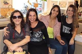Clara Roque, Valéria Souza e outra querida, com Eliane