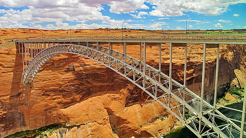 Glen Canyon Dam  Bridge - Page Arizona