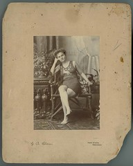Photograph of Beatrice Kerr wearing an Austral...