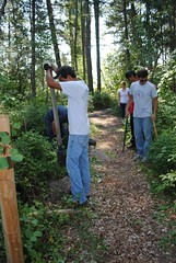The Montana  Tribal Youth Conservation Corps M...
