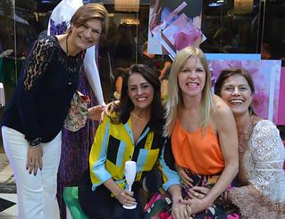 Selene Cota, Cláudia França, Glória e Sandra Brandão,