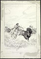 Métis Hunting the Bison / Métis chassant le bison